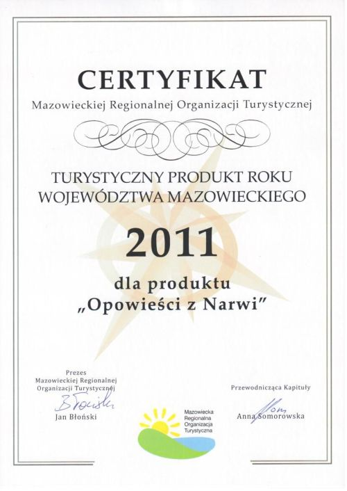 The best of MAZOVIA tourist product 2011