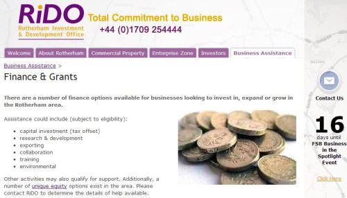 Dotacje, dofinansowania i granty w UK