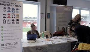 Rotherham European Business Festival Inova & English for Work