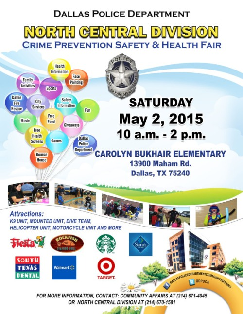 NC Crime Prevention Fair  2015 English
